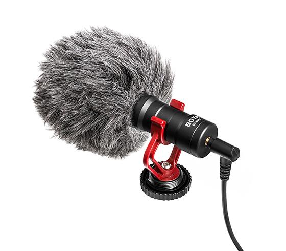 BOYA BY-MM1 Universal Cardiod Shotgun Microphone