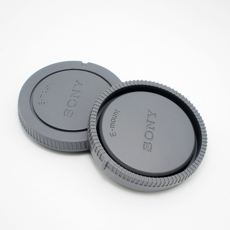 Sony Body And Rear Lens Cap For Sony DSLR