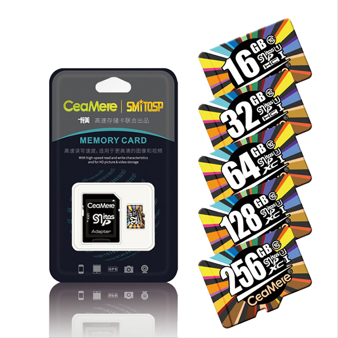 Ceamere Wholesale Micro Memory Cards High Quality Class 10 U1 U3