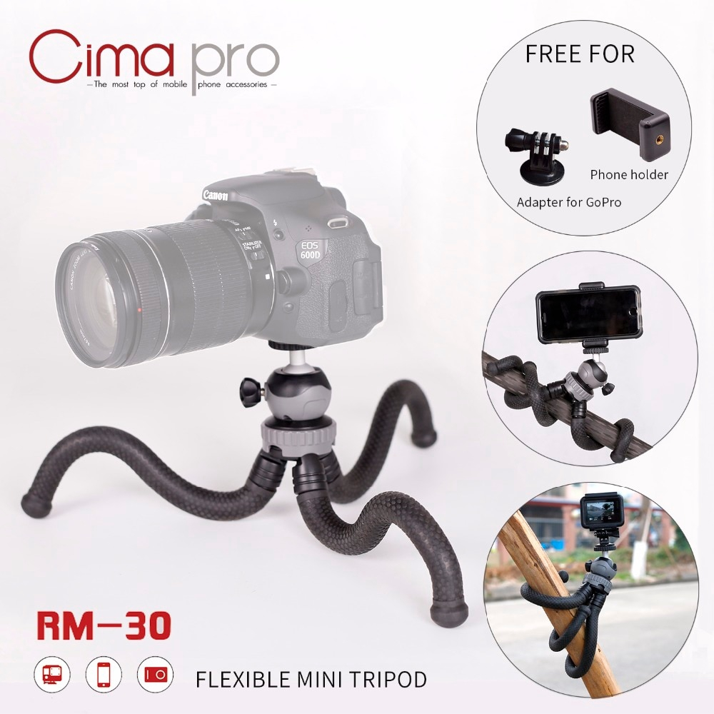 CIMA PRO RM-30 travel outdoor mini bracket octopus tripod