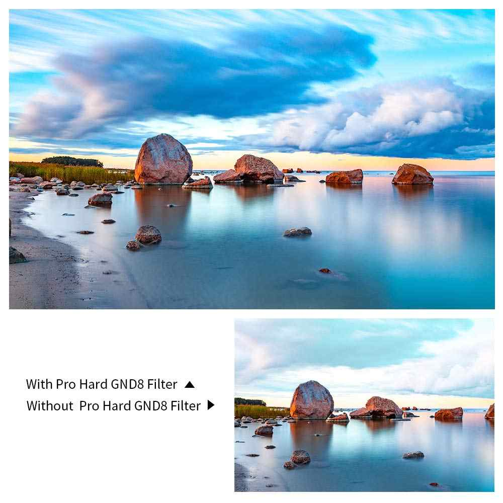 K&F GND8 100 x 150mm Soft 3 f stop Graduated Neutral Density Filter