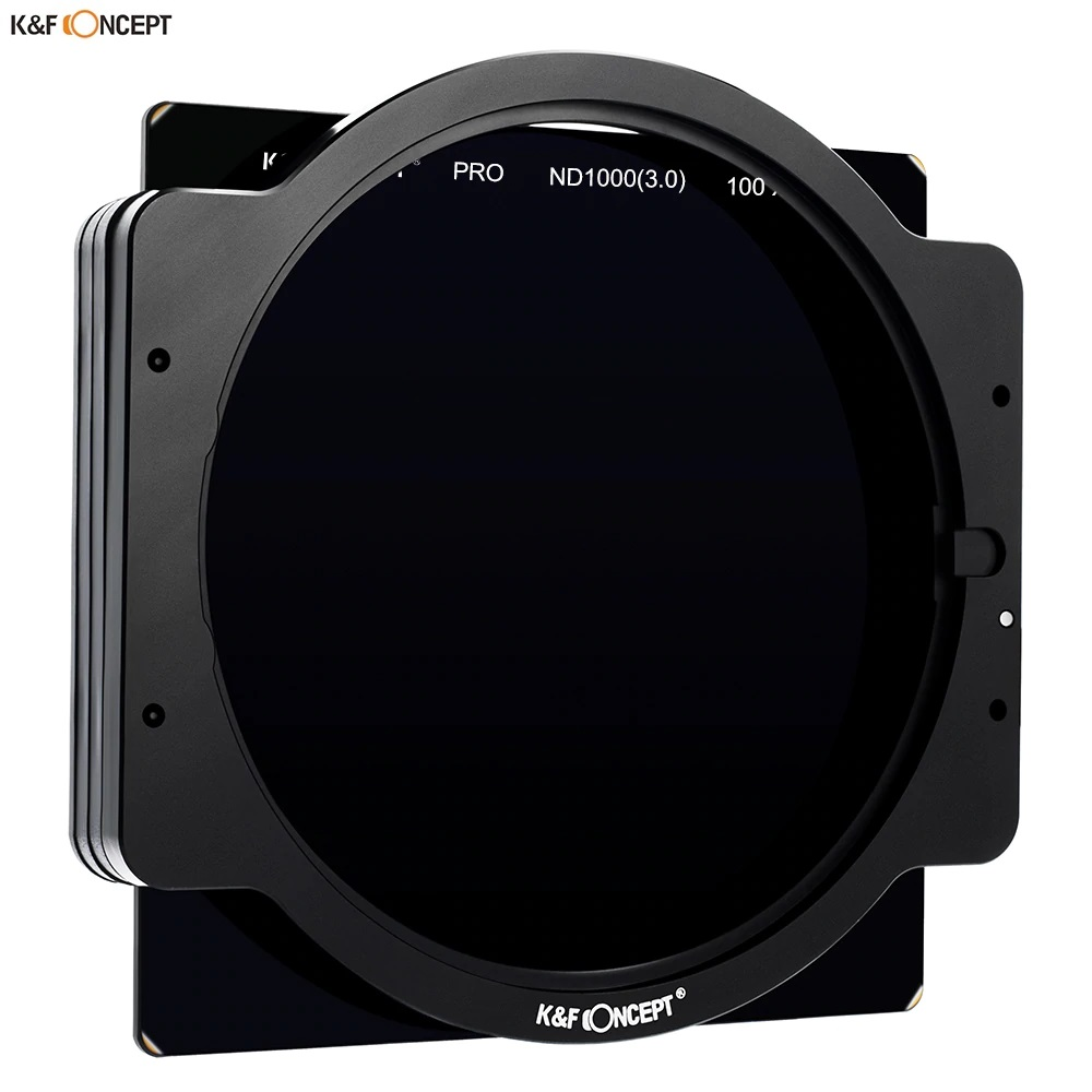 K&F Concept Square Filter ND8 100 x 100mm 3 Stop Neutral Density with Filter Holder