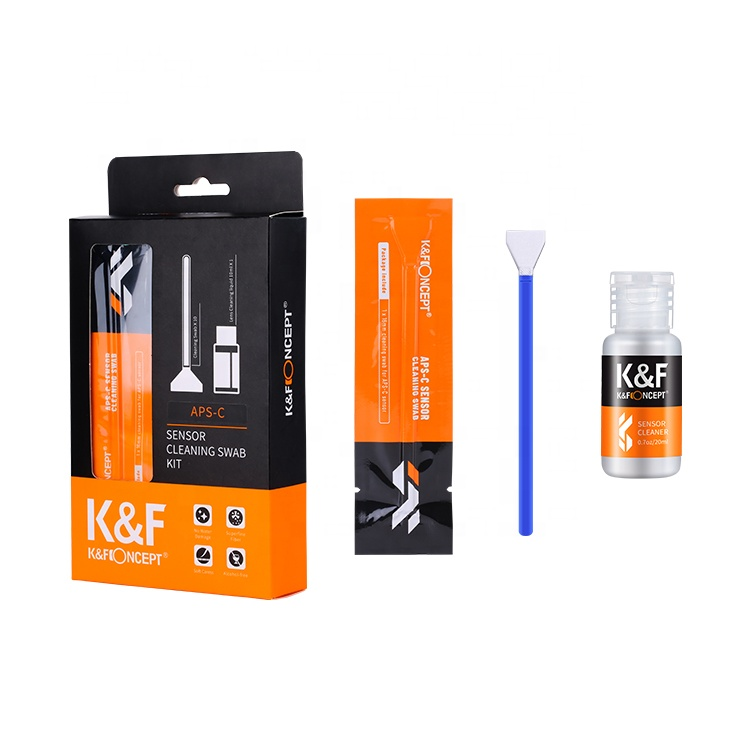 K&F Concept Digital Camera Sensor Lens fiber optic cleaning swabs cleaning fiber