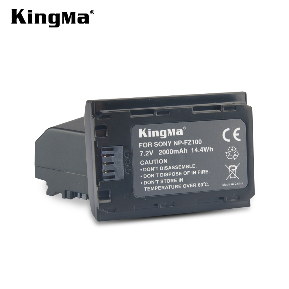 Kingma NP-FZ100 Battery Pack for Sony A7 III, A7R III, A9 Digital Cameras