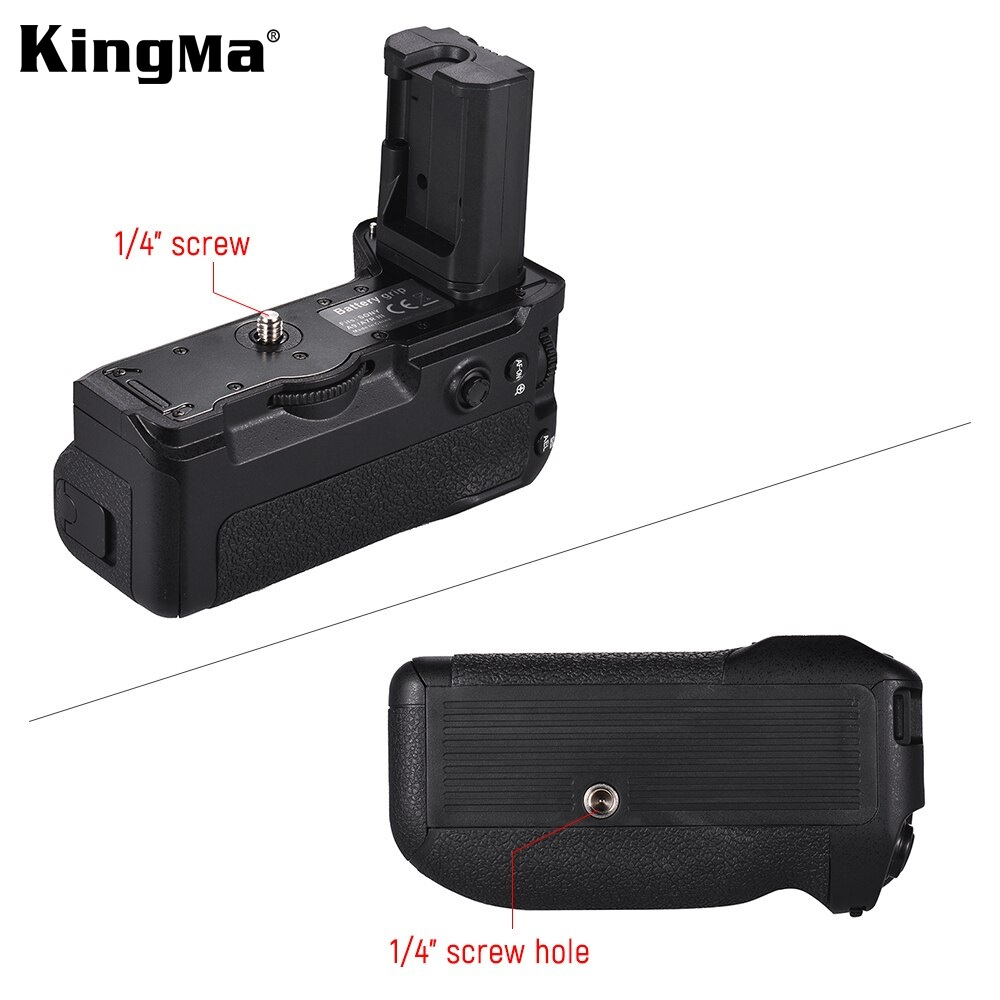 KingMa VG-C3EM Battery Grip Battery Power Handle Grip Holder For SONY A9 A7 III A7R III Cameras