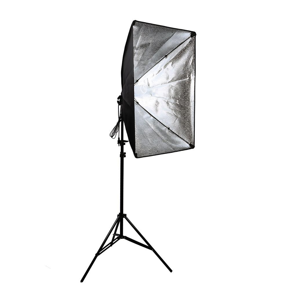 Studio 50x70cm Softbox Lighting Umbrella E27 Socket Light Lamp 3200K 5500K Studio Lighting Set