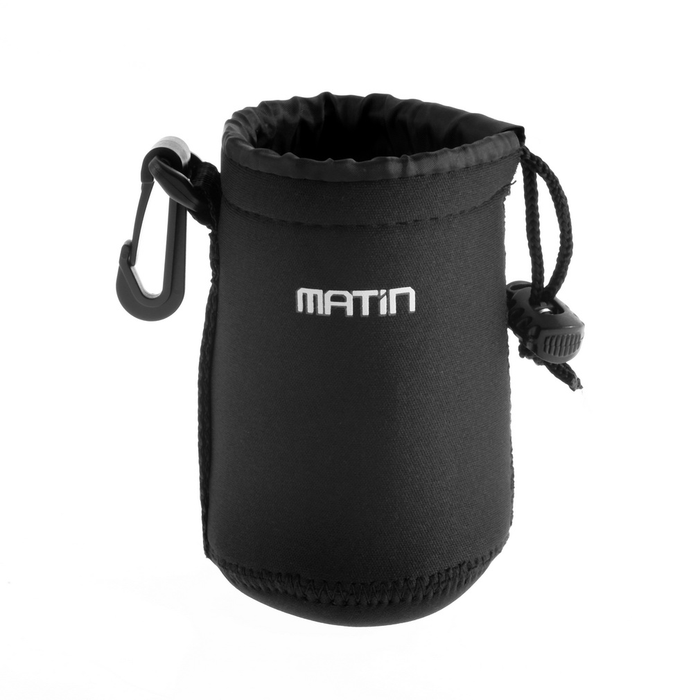Matin Neoprene Waterproof Soft Camera Lens Pouch Bag Case - M Size