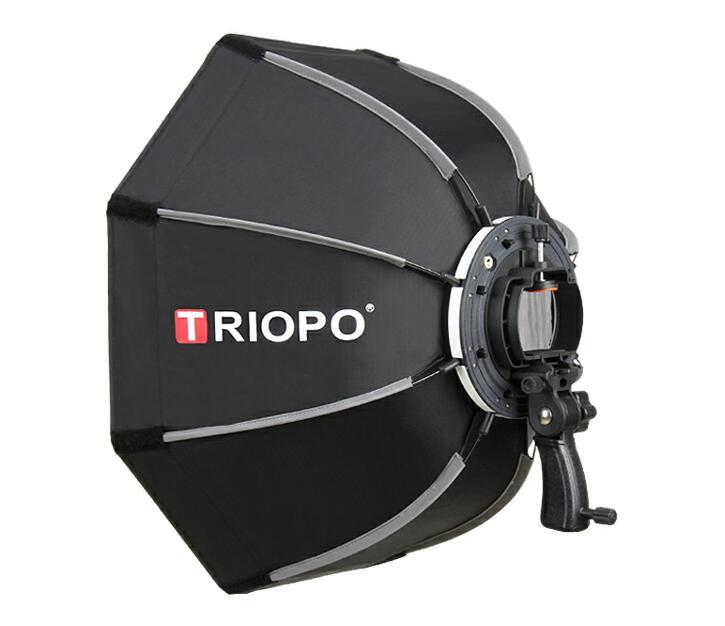 TRIOPO KS-90 90CM Manufacture quick and easy fold speedlite softbox