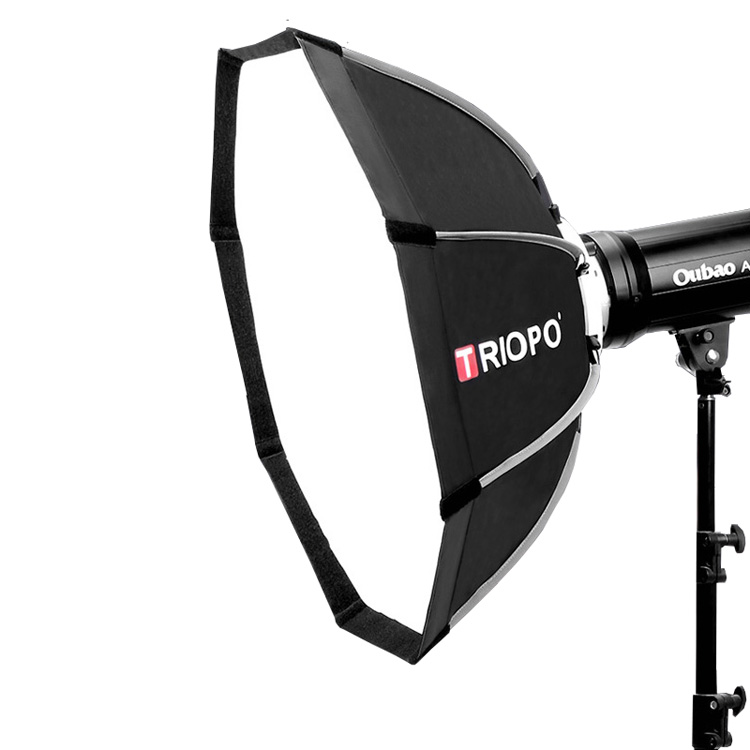 TRIOPO K120 Manufacture quick and easy fold speedlite softbox