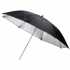 33inch Flash Light Reflector Black Silver Umbrella Lighting Studio