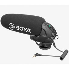 BOYA BY-BM3030 On-Camera Supercardioid Shotgun Microphone