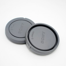 Sony E-Mount Rear Lens Cap and Camera Front Body Cover for NEX-3 NEX-5
