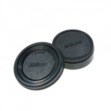 Nikon Body And Rear Lens Cap For Nikon DSLR