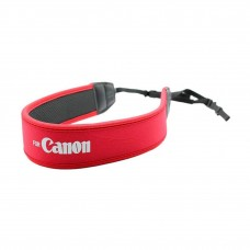 Canon Neoprene Neck Strap Neckstrap for Camera / DSLR - Red