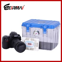 Eirmai R10 Dry Box Humidity Cabinets Camera Sealed Lens + Electronic Dehumidifier