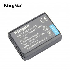 KingMa LP-E10 Battery Pack for Canon EOS Rebel T3 T5 T6 1100D 1200D 1300D Digital Camera