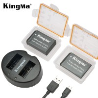 Kingma LP-E12 Dual Battery with Charger For Canon EOS M M2 M10 M50 M100 100D