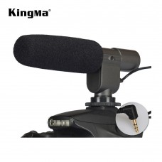 Kingma MIC-108 Directional Stereo High Sensitive Camera Microphone For Interview Recording