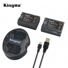 Kingma NP-FZ100 Battery Pack and Dual USB Charger for Sony A7 III, A7R III, A9 Digital Cameras