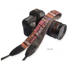 LH-06 Vintage Camera Cotton Shoulder Strap Neck Strap Belt