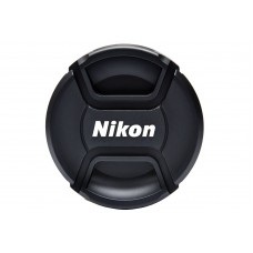Center-Pinch Snap-On Front Lens Cap For Nikon