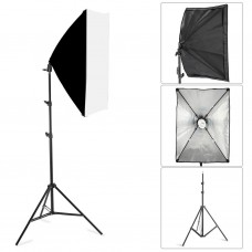 Studio 50x70cm Softbox Lighting Umbrella E27 Socket Light Lamp 3200K 5500K Studio Lighting Set
