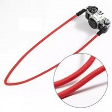 Nylon Rope Camera Shoulder Neck Strap Belt - Red