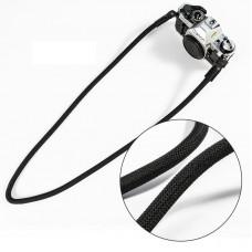 Nylon Rope Camera Shoulder Neck Strap Belt - Black