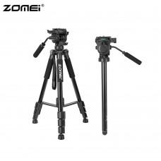 ZOMEI Q310 Professional Aluminum Alloy mini Video phone Camera Tripod 4-Section Extendable live Monopod Max