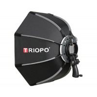 TRIOPO KS-90 90CM Manufacture quick and easy fold speedlite softbox