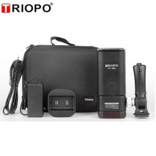Triopo F1-200 2.4G TTL Speedlite Flash Strobe,1/8000 HSS,2900mAh Lithium Battery,Portable Pocket Flash