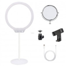 Zomei Portable Dimmable Tabletop LED Ring Light